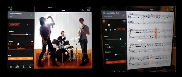 Yamaha Smart Pianist app functions