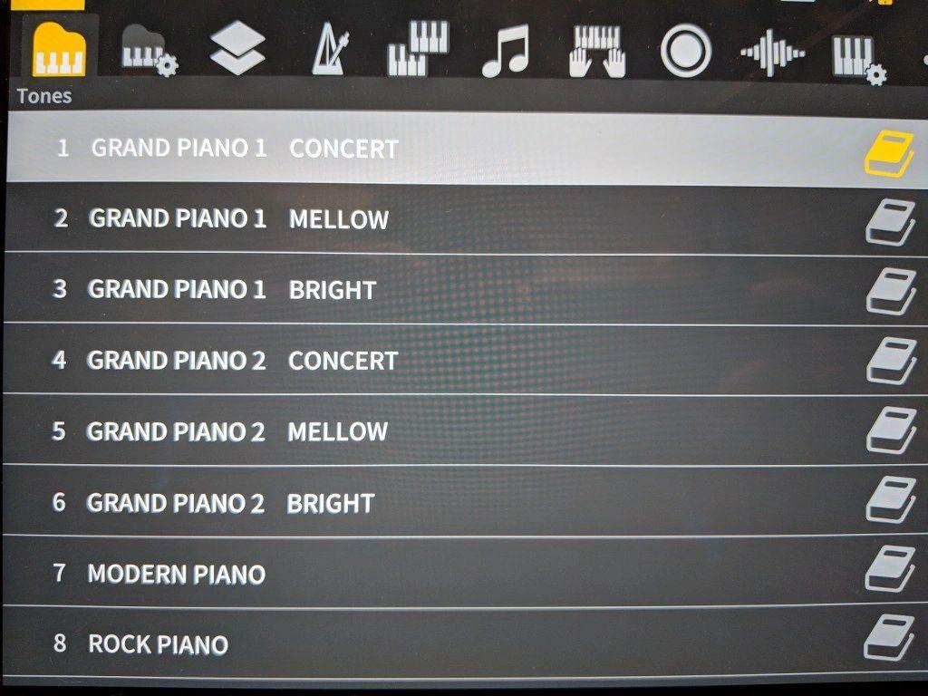 Casio Chordana controller app