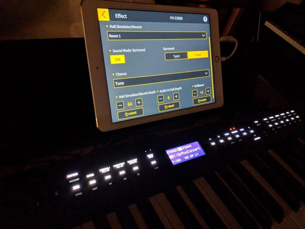 Casio PX-S3000 portable digital piano
