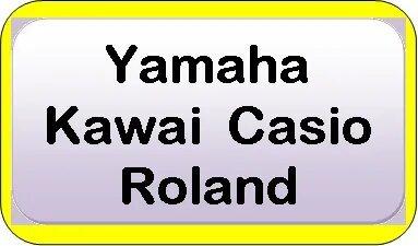 Yamaha, Casio, Kawai, Roland used digital pianos
