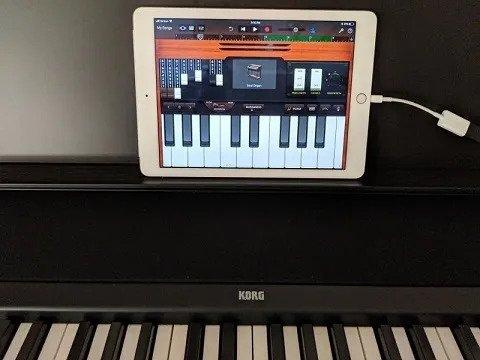 Korg B2 iPad connection