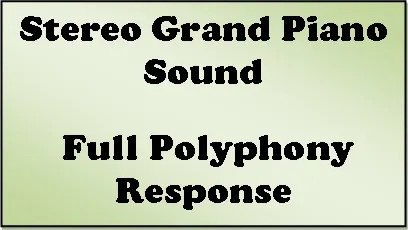 Korg B2 polyphony
