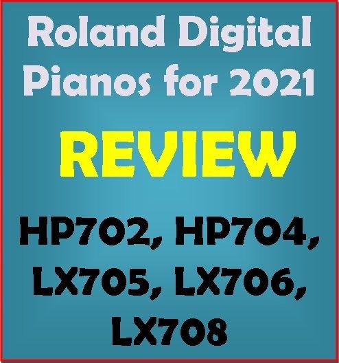Roland home digital pianos for 2021 - $2000 to $6000