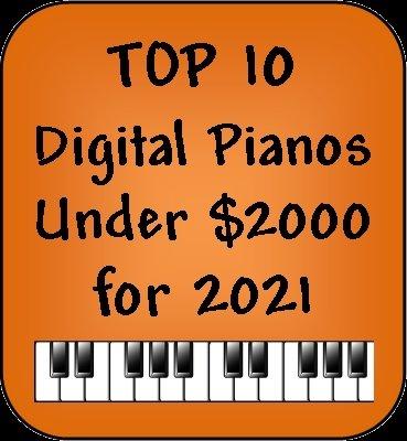 Top 10 digital pianos under $2000 for 2021