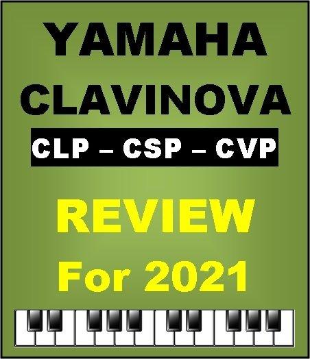 Yamaha Clavinova Digital Pianos 2021